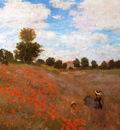 Monet Claude Wild Poppies Near Argenteuil