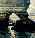 Monet La Porte D Amount Etretat