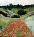 monet poppy field in a hollow near giverny