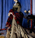 Monet Portrait Of Madame Gaudibert