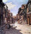 monet rue de la bavolle honfleur