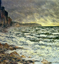 monet the sea at fecamp