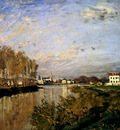 Monet The Seine At Argenteuil
