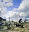 Monet The Seine Estuary At Honfluer