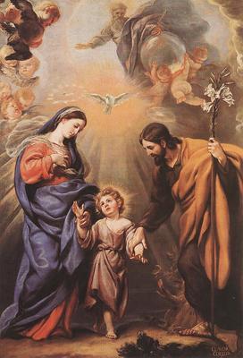 COELLO Claudio Holy Family
