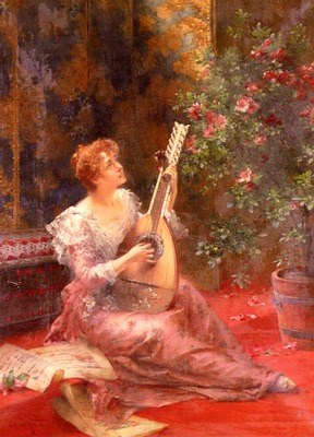 Kiesel Conrad The Lute Player
