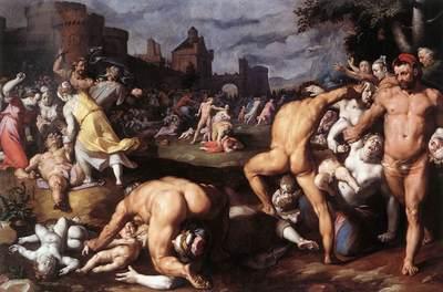 cornelis van haarlem massacre of the innocents