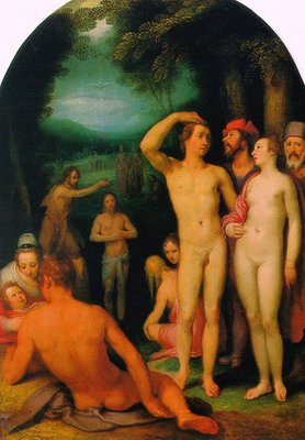 CORNELIS VAN HAARLEM The Baptist Of Christ