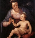 CORNELIS VAN HAARLEM Madonna And Child