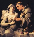 CORNELIS VAN HAARLEM The Monk And The Nun