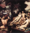 CORNELIS VAN HAARLEM The Wedding Of Peleus And Thetis