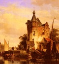 Springer Cornelis Along The Canal