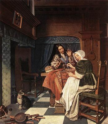MAN Cornelis de The Chess Players