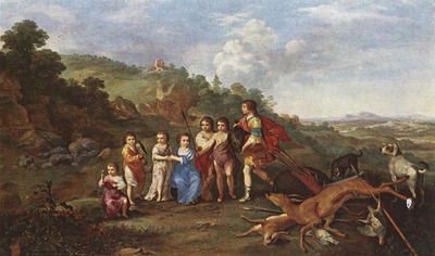 POELENBURGH Cornelis van Children Of Frederick V Prince Elector Of Pfalz And King Of Bohemia