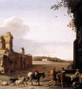 POELENBURGH Cornelis van Ruins Of Ancient Rome