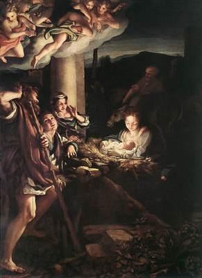 CORREGGIO Nativity Holy Night