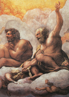 CORREGGIO The Apostles Peter And Paul Detail Of Cupola Fresco