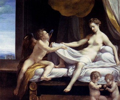 Correggio Jupiter And Io