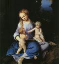 CORREGGIO Madonna And Child With The Young Saint John