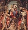 CORREGGIO Madonna With St George