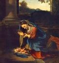 CORREGGIO The Adoration Of The Child