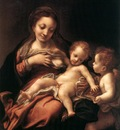 CORREGGIO Virgin And Child With An Angel