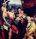 Correggio Madonna Of St Jerome