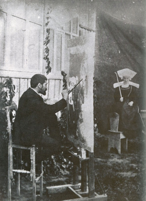 Dagnan Bouveret Painting The Pardon In Brittany