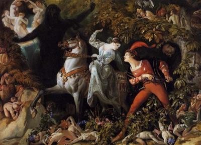 MACLISE Daniel A Scene from Undine