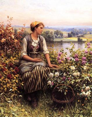 Knight Daniel Ridgway Daydreaming