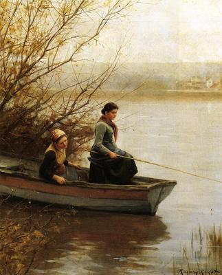 Knight Daniel Ridgway Fishing