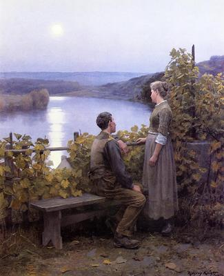 Knight Daniel Ridgway Summer Evening