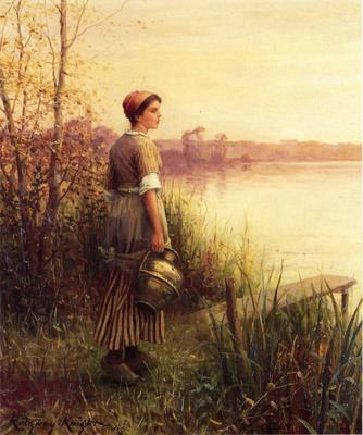 Knight Daniel Ridgway The Golden Sunset