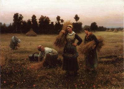 Knight Daniel Ridgway The Harvesters