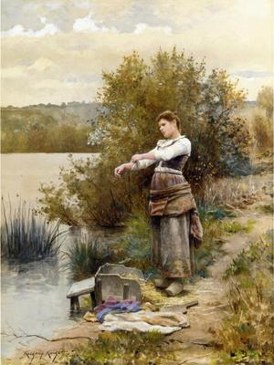 Knight Daniel Ridgway The Laundress