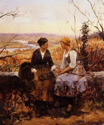 Knight Daniel Ridgway The Two Friends