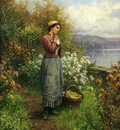 Knight Daniel Ridgway Julia on the Terrace