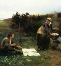 Knight Daniel Ridgway The Honeymoon Breakfast