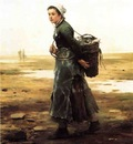 Knight Daniel Ridgway The Oyster Gatherer