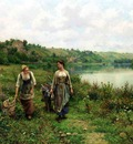 Knight Daniel Ridgway The Seine at Vernon