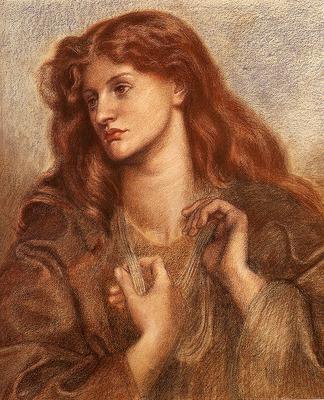 Rossetti Dante Gabriel Alexa Wilding