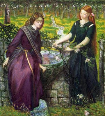 Rossetti Dante Gabriel Dante s Vision of Rachel and Leah