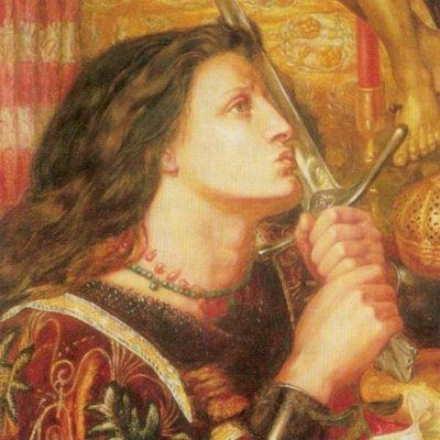 Rossetti Dante Gabriel Joan of Arc