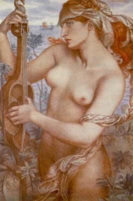 Rossetti Dante Gabriel Ligeia Siren