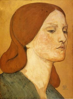 Rossetti Dante Gabriel Portrait of Elizabeth Siddal3