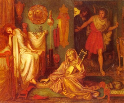 Rossetti Dante Gabriel The Return Of Tibullus To Delia