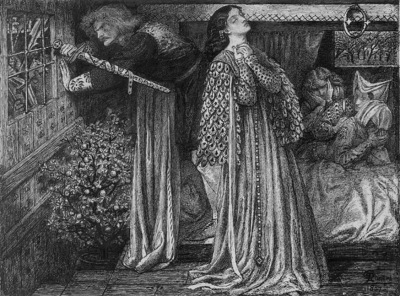 Rossetti Sir Launcelot in the Queen s Chamber