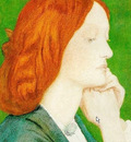 Rossetti Dante Gabriel Elizabeth Siddal