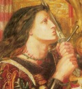 Rossetti Dante Gabriel Joan of Arc