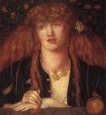 Rossetti Dante Gabriel La Bionda del Balcone